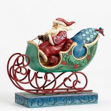 Wonderland Santa and Sleigh